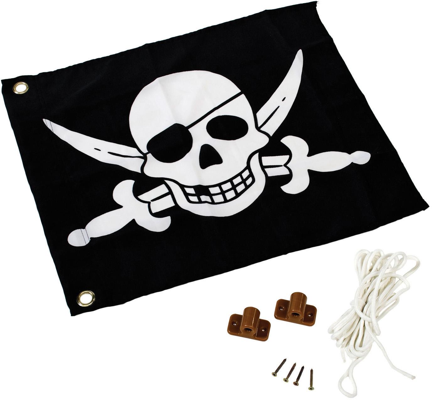 Fahne mit Hisssystem - Pirate