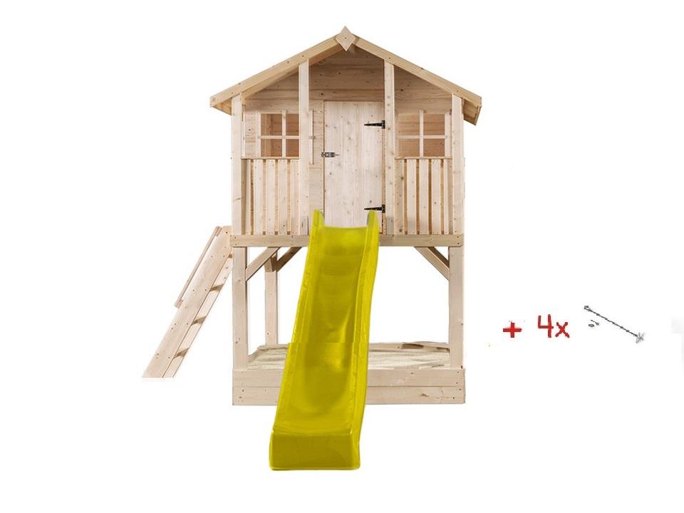 Stelzenhaus Tobi Premium mit Sandkasten – Bild 12