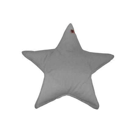 Kissen Star grau – Bild 1