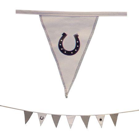 Flaggengirlande Hufeisen – Bild 1