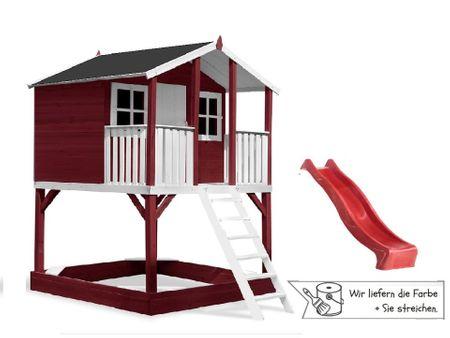 Stelzenhaus Tobi - Original - 519 Podesthöhe 150 cm - farbig – Bild 11